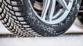 El neumático Blizzak LM005 de Bridgestone, reconocido en las pruebas de invierno europeas