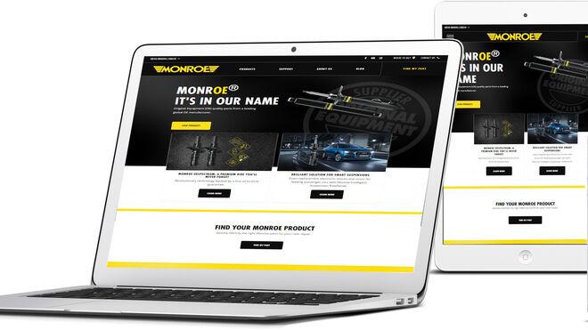 Monroe estrena página web centrada en los productos y el soporte