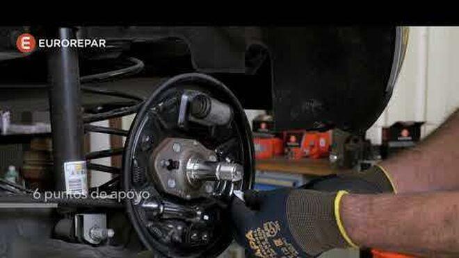 ¿Cómo montar un kit de frenos de tambor?