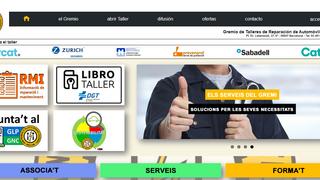 El Gremio de Talleres de Barcelona rediseña su web con nuevos contenidos y servicios