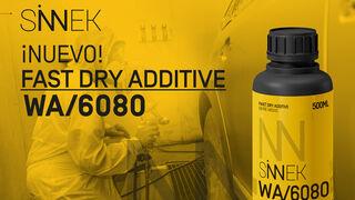 Sinnek presenta su nuevo aditivo WA/6080 Fast Dry Additive