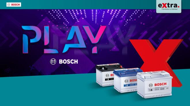 """Bosch lanza la campaña de baterías """"Play Bosch"""" para premiar la fidelidad de los talleres"""