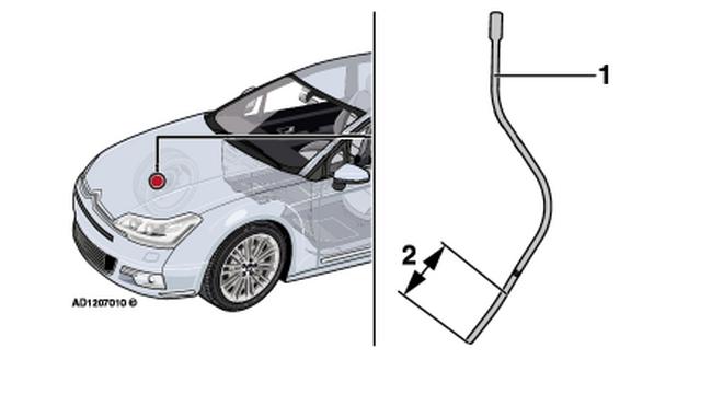 Solución al aviso de nivel de aceite del motor aunque es correcto en un Citroën C5 III