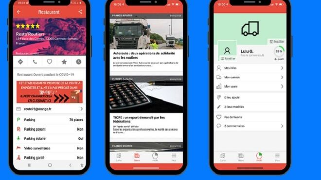 Michelin actualiza Truckfly, la app pensada para informar en ruta a los transportistas
