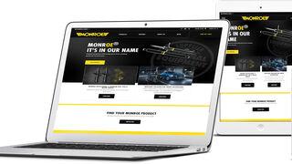 La nueva web de Monroe está optimizada para todos los dispositivos