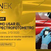 Sinnek organiza un webinar sobre el uso del espectrofotómetro