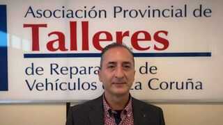 Basilio Insua, nuevo presidente de la Asociación Provincial de Talleres de A Coruña (Aptcor)
