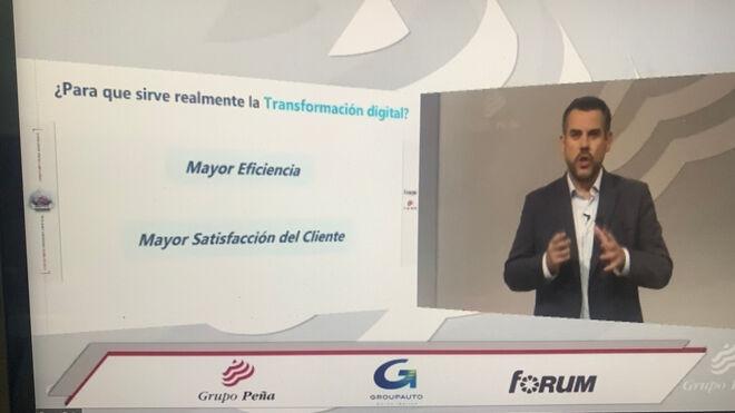 Grupo Peña enseña el camino digital a los talleres