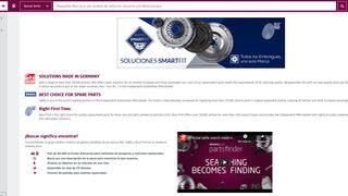 Partsfinder: buscar significa encontrar