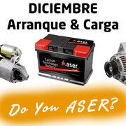 """La batería: arranque y carga, la """"causa Aser"""" del mes de diciembre"""
