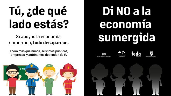 Apetreva (Cetraa Albacete) se suma a una campaña contra la economía sumergida