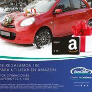 Eurotaller ofrece cheques regalo en Amazon por una revisión superior a 150 euros