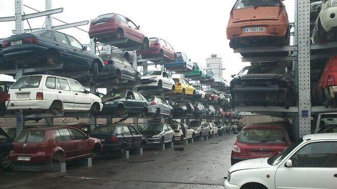 Diciembre, el mes del año en el que más vehículos se desguazan