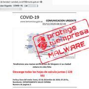 Alerta a talleres ante el envío de correos falsos que usan de señuelo el plan de movilidad