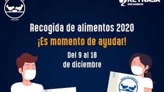 Reynasa inicia una campaña de recogida de alimentos solidaria