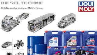 Diesel Technic y Liqui Moly se alían en el mercado ibérico del vehículo industrial