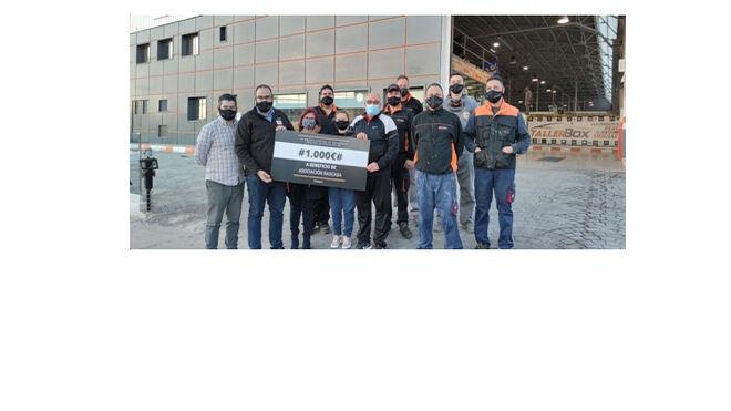 Tallerbox y sus empleados donan sus cestas de Navidad a fines benéficos
