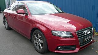 Avería en un Audi A4: comportamiento erróneo u oscilante del ralentí