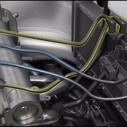 Configuración de cables en bobinas de bloque de cuatro cilindros