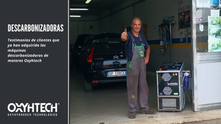 Los clientes opinan tras utilizar una máquina descarbonizadora Oxyhtech