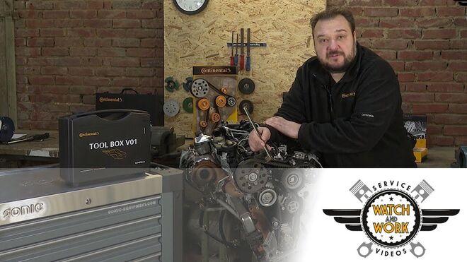 Productos y herramientas que se necesitan para reparar el motor de un Volkswagen TDI