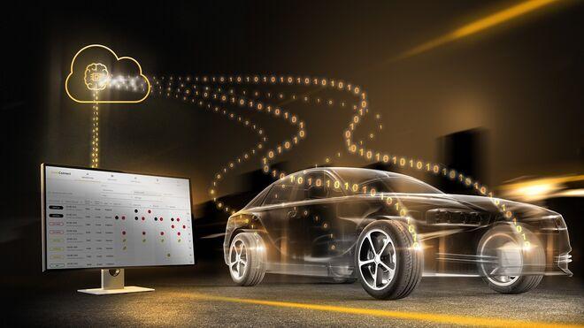 Algoritmo de Continental y Share Now para monitorizar en tiempo real la profundidad de los neumáticos