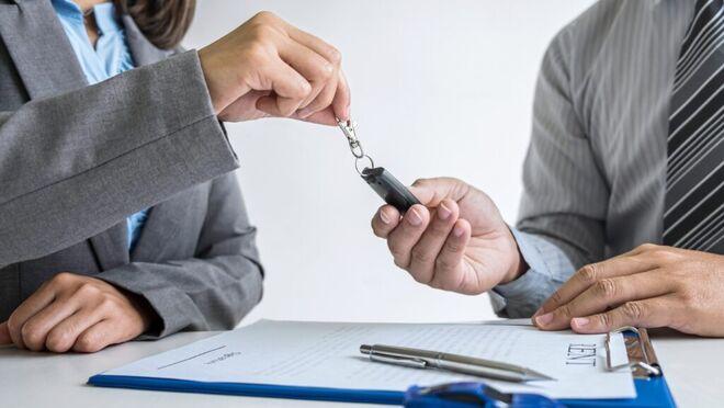 Mantenimiento de un vehículo de renting