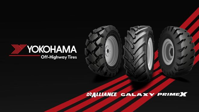 Yokohama Off-Highway Tires, la nueva marca tras la fusión de Yokohama OTR y Alliance Tire Group