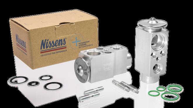 Nissens amplía su gama de componentes de confort climático con la válvula de expansión