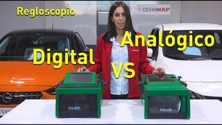 ¿Qué regloscopio es mejor, analógico o digital?