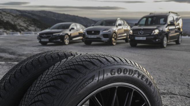 Goodyear apuesta por los neumáticos de invierno ante el temporal de frío y nieve