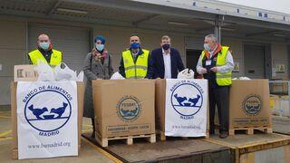 La campaña solidaria de Reynasa se cerró con 860 kilos de alimentos y una donación de 2.000 euros