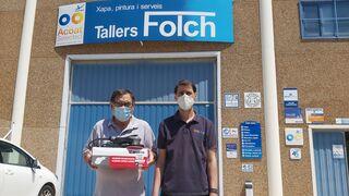 Tallers Folch, ganador del concurso del Manual de Chapa y Pintura de Infocap