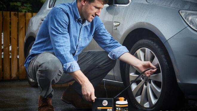 Nuevos selladores Osram para reparar pinchazos en neumáticos