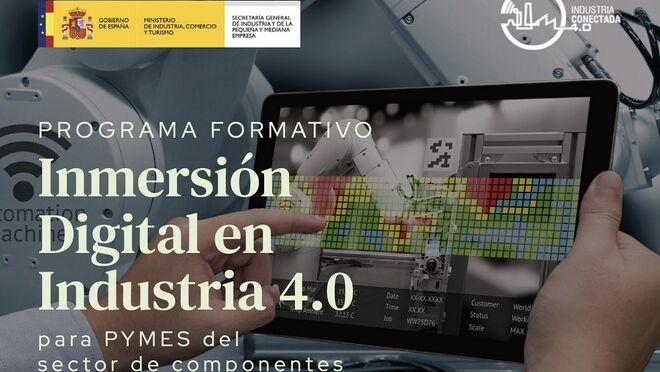 El Gobierno lanza un programa de Inmersión Digital en la Industria 4.0 en colaboración con Sernauto