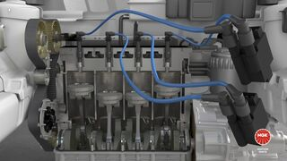 Causas del desgaste del electrodo de la bujía de encendido
