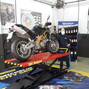 Nuevo servicio de mantenimiento de motos y scooters de Euromaster
