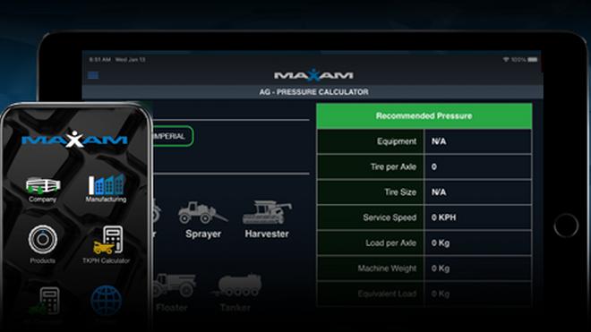 Nueva versión optimizada de la aplicación Maxam Tire para iOS y Android