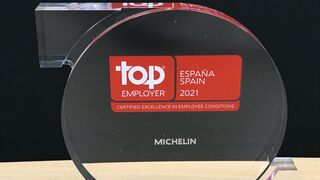Michelin España recibe, por cuarto año consecutivo, el certificado Top Employer