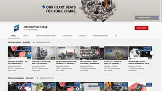 El canal de Motorservice en Youtube alcanza los 50.000 suscriptores