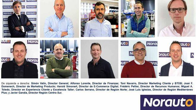 Norauto España renueva su equipo de dirección y estrena departamento e-commerce