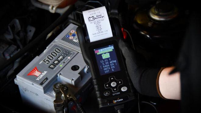 GS Yuasa GTY250, nuevo comprobador de baterías