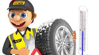 Confortauto recomienda extremar la vigilancia de los neumáticos en invierno