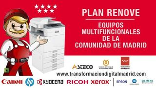 Los talleres madrileños pueden solicitar ayudas para comprar impresoras multifuncionales