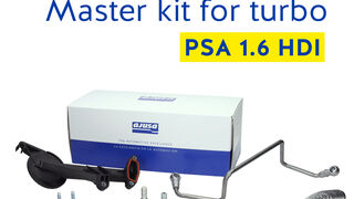 Nuevo kit sistema de lubricación para turbo de Ajusa