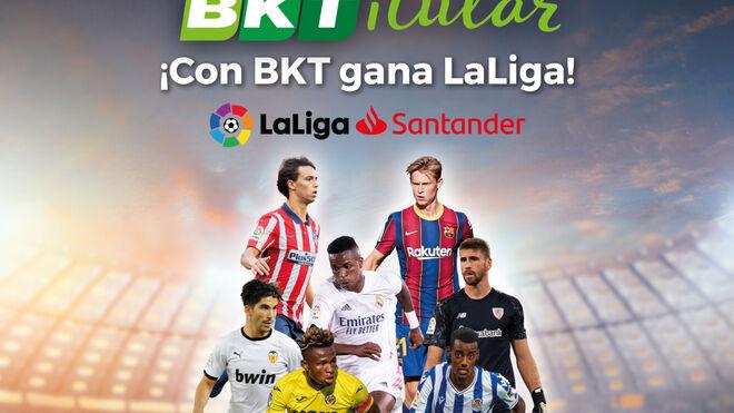 BKT pone en marcha el concurso BKTitular, que sortea merchandising de LaLiga Santander