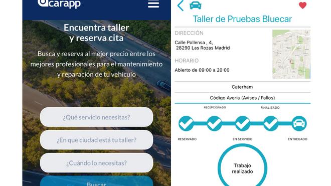 """Carapp (Citaller), elegida por """"El País"""" como una de las mejores webs para encontrar taller"""