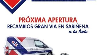 Recambios Gran Vía abre nuevo punto de venta en Sariñena (Huesca)