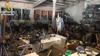 Sancionado un taller ilegal en una antigua granja de animales de La Canonja (Tarragona)