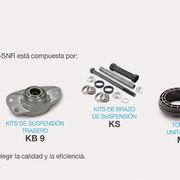 Recomendaciones NTN-SNR sobre la gama de suspensión